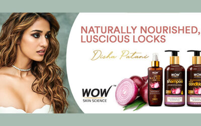 Disha Patani is the face of WOW Skin Science