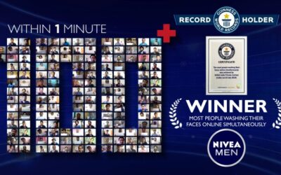 Nivea Men India holds a Guinness World Record