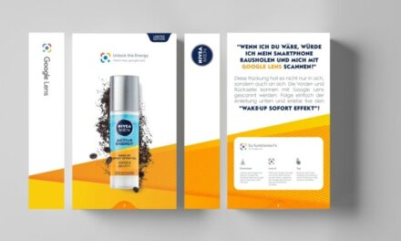 Nivea combines its experience with the technology of Google Lens