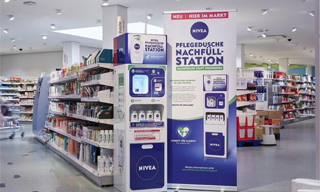 Beiersdorf tests Refill station for Nivea Shower Gel