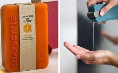 SoapBottle – Zero Waste Packaging Design