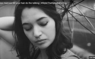 Philip's Digital Ad campaign uses language of hair