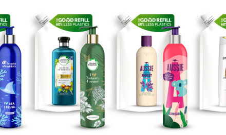 P&G set to launch new refillable packaging FOR SHAMPOOS