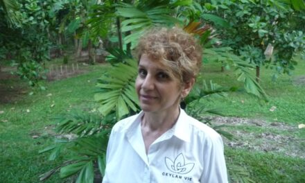'Working with Nature makes me joyful' says  Armelle French